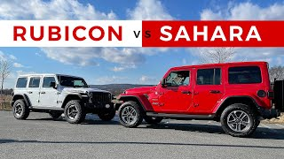 2021 Jeep Rubicon vs. Sahara   Which Vehicle is Right For You?