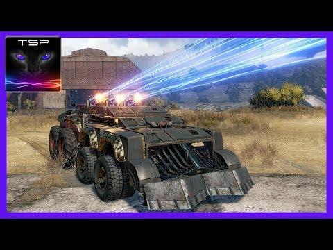 Crossout #22 - Ultimate 3x Thunderbolt Shotgun Build - DESTROY THEM ALL!