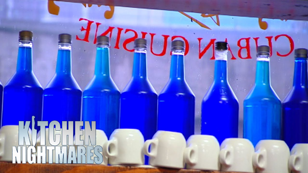 Owner Uses Toilet Water For His Display | Kitchen Nightmares