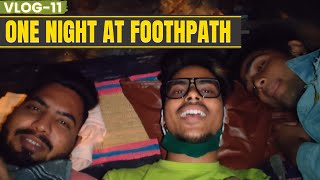 One Night At Footpath || Vlog -11 || @Sunny Bhavsar