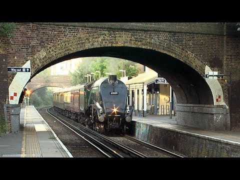 60009 Union of South Africa on a Surrey Hills Private Charter