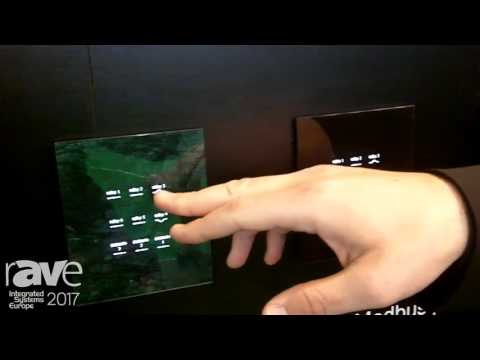 ISE 2017: CONTEC Intelligent Housing Displays RS485 Home Touch Switch