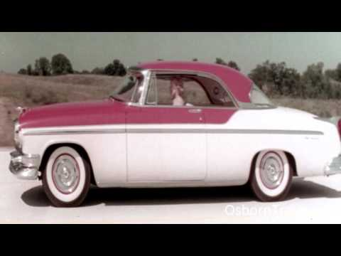 Chrysler  Corporations $100 Million New Look 1955 Widescreen