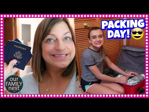 WE ARE LEAVING THE COUNTRY! PACKING DAY IS HERE!
