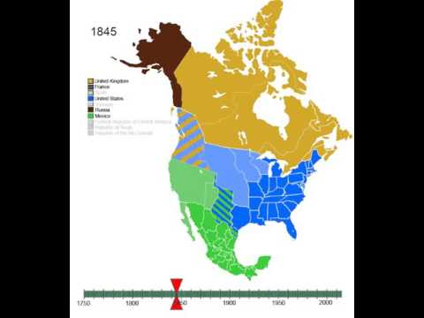Timeline to foundation of the United States of America