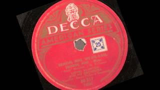 Lionel Hampton and his Orchestra  --  drinking wine spo-dee-o-dee drinking wine -  78 rpm
