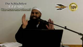 Das Schlachtfest Eid al-Adha, was muss man wissen?