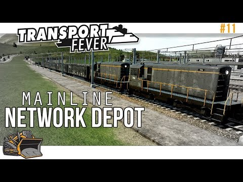 Mainline Network Depot | Transport Fever Mainline #11
