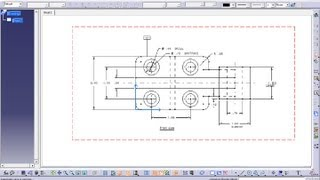Catia V5 Tutorial|Drafting Workbench-II|Inserting Frames and Title Block Manually(ISO & 3rd Angle)