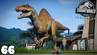 JURASSIC WORLD EVOLUTION 66 - SPINORAPTOR, Nouvel Hybride Carnivore - royleviking [FR HD PC]