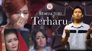 viral awalnya biasa aja!! peserta ini nyanyikan sholawat semua juri langsung menangis  Parodi Audisi