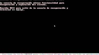 recuperar archivo ntldr en win xp