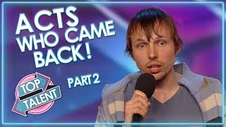 Download Acts Who CAME BACK! Part Two | Top Talent Mp3 and Videos