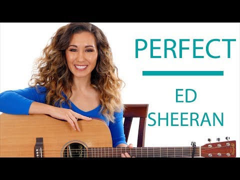 Perfect by Ed Sheeran - Guitar Tutorial with Fingerpicking and Play Along