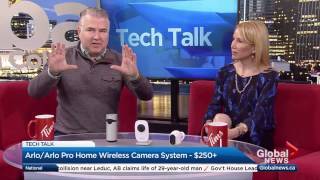 Best home security cameras | GlobalTV Tech Talk April 10, 2017
