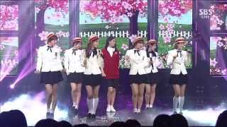 Download 130915 5Dolls - Can You Love Me (feat. Dani of T-ara N4) @ Inkigayo [1080p] MP3 song and Music Video