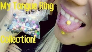 My Tongue Ring Collection! | BreeAnn Barbie