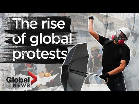 The rise of protests around the world, explained