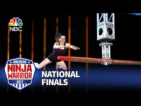 Barclay Stockett at the Las Vegas National Finals: Night 1 - American Ninja Warrior 2017