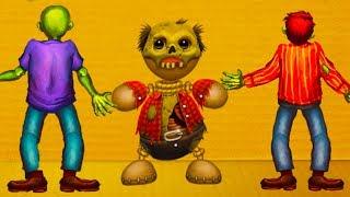 - ЗОМБИ и СКЕЛЕТЫ ПРОТИВ АНТИСТРЕССА мобильная игра Kick the Buddy 17 крутилкины
