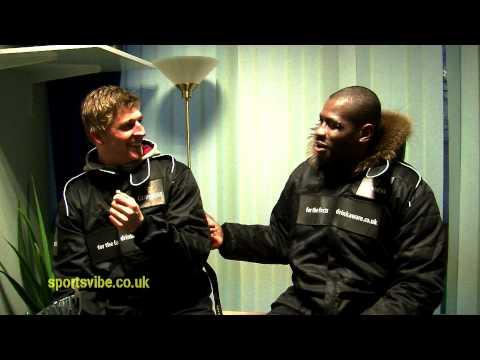 David Strettle vs Ugo Monye Driving Challenge - Sportsvibe TV