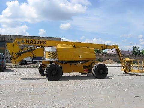 коленчатый подъемник Haulotte HA32PX