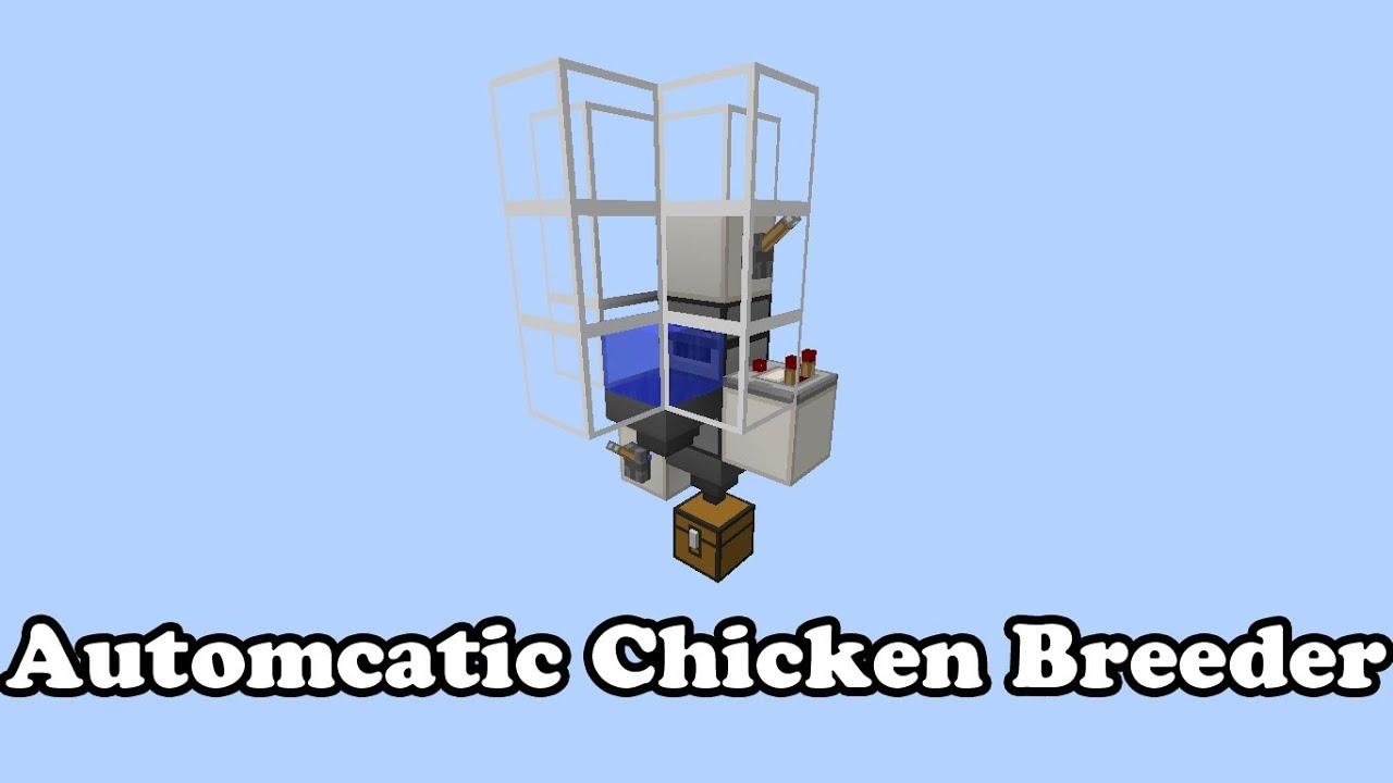 chicken machine minecraft