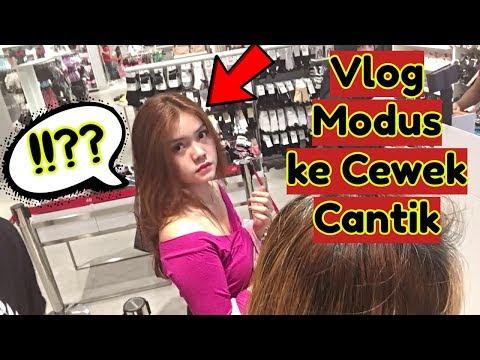 MODUS  nge-Vlog Sama Cewek Cewek Cantik Gak Dikenal - PRANK INDONESIA