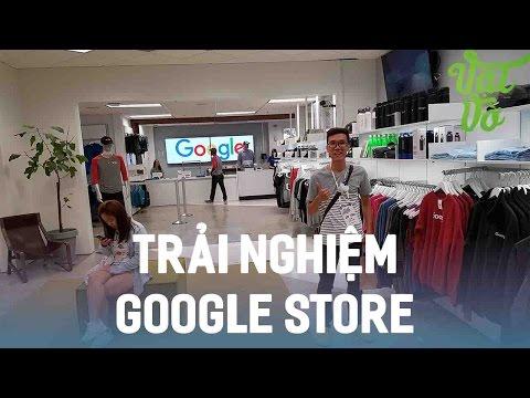 Vật Vờ| Trải nghiệm Google Store trong trụ sở Google tại Silicon Valley