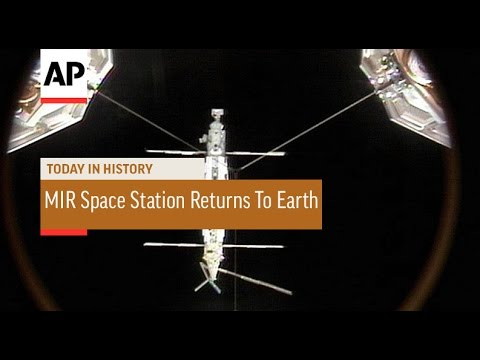 MIR Space Station Returns to Earth - 2001  | Today In History | 23 Mar 17