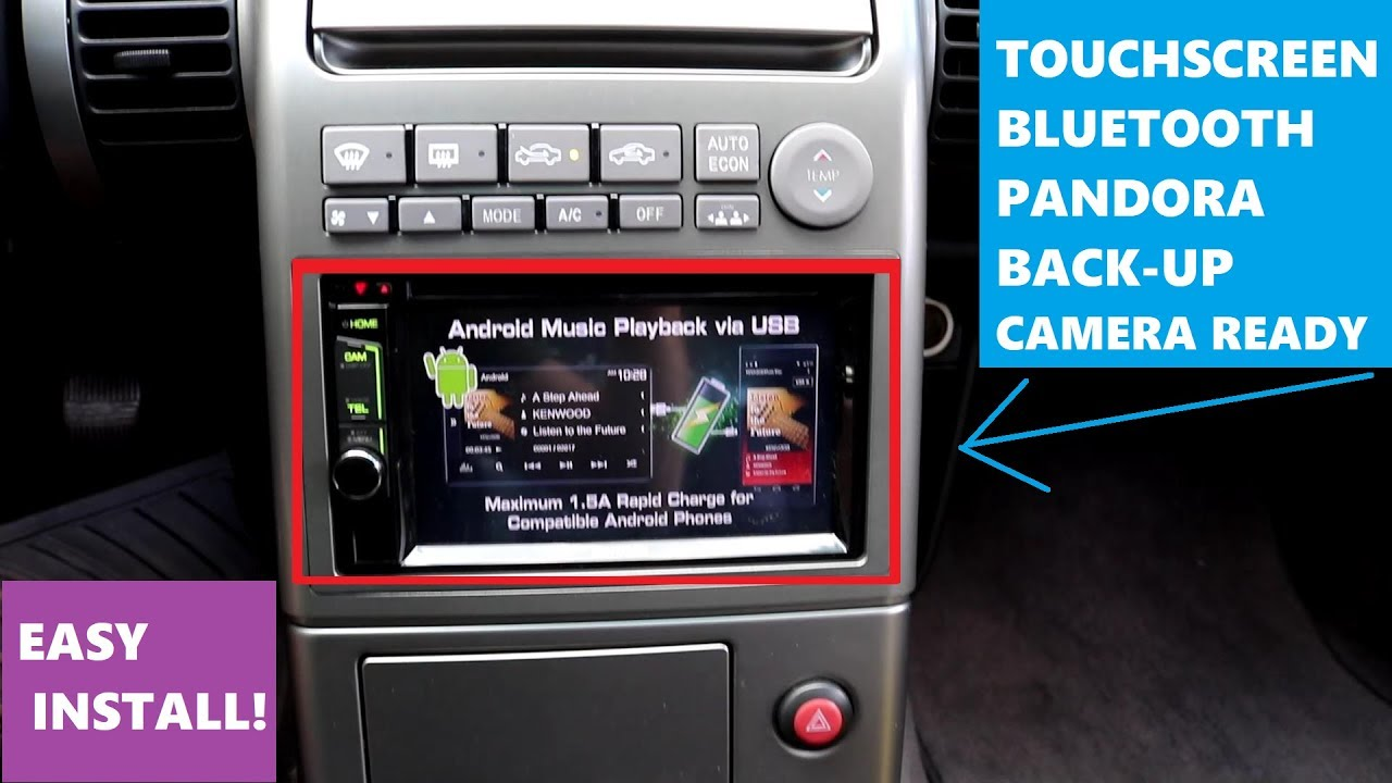 How To Install A Touchscreen Car Radio With Bluetooth Youtube Wiring Audio Monitor