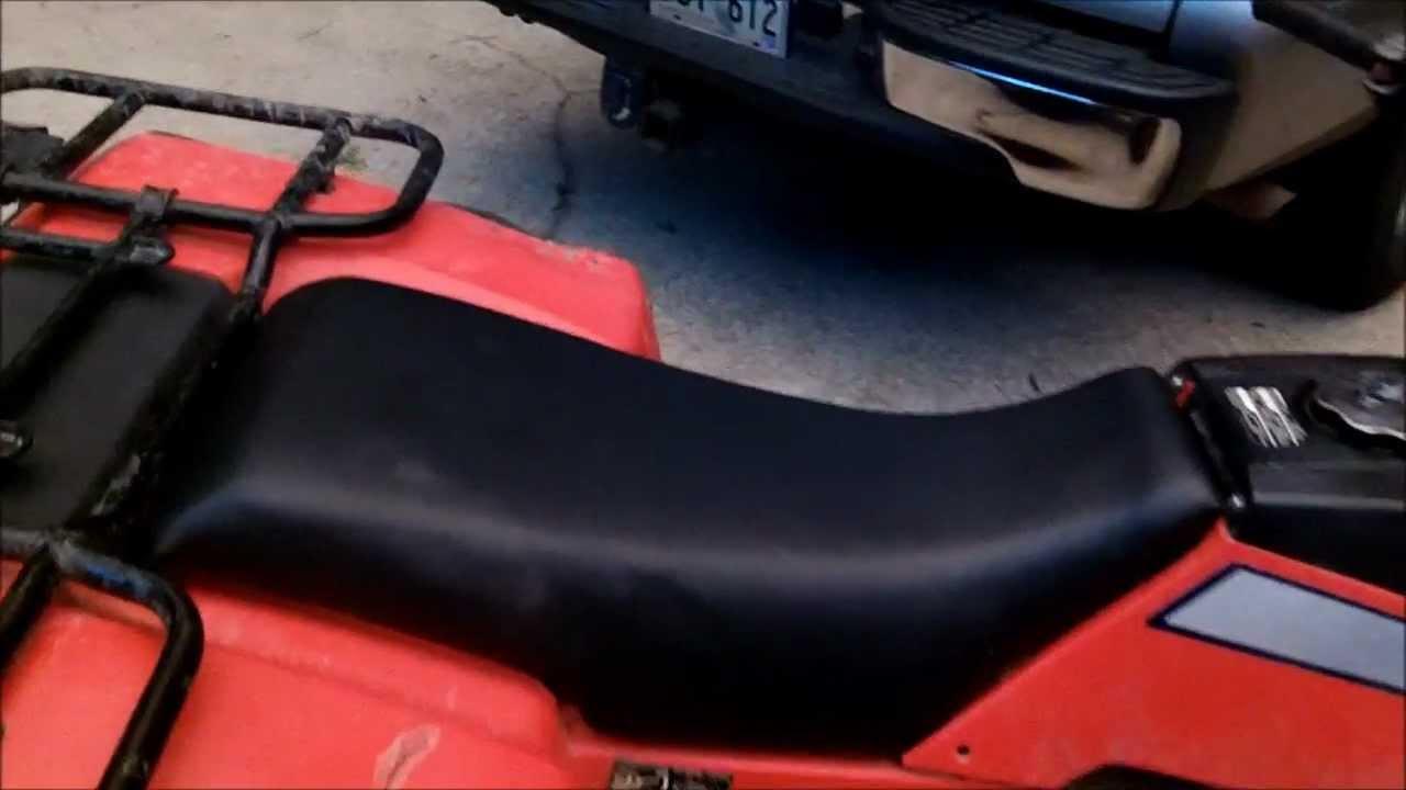 new 4 wheeler seat youtube. Black Bedroom Furniture Sets. Home Design Ideas