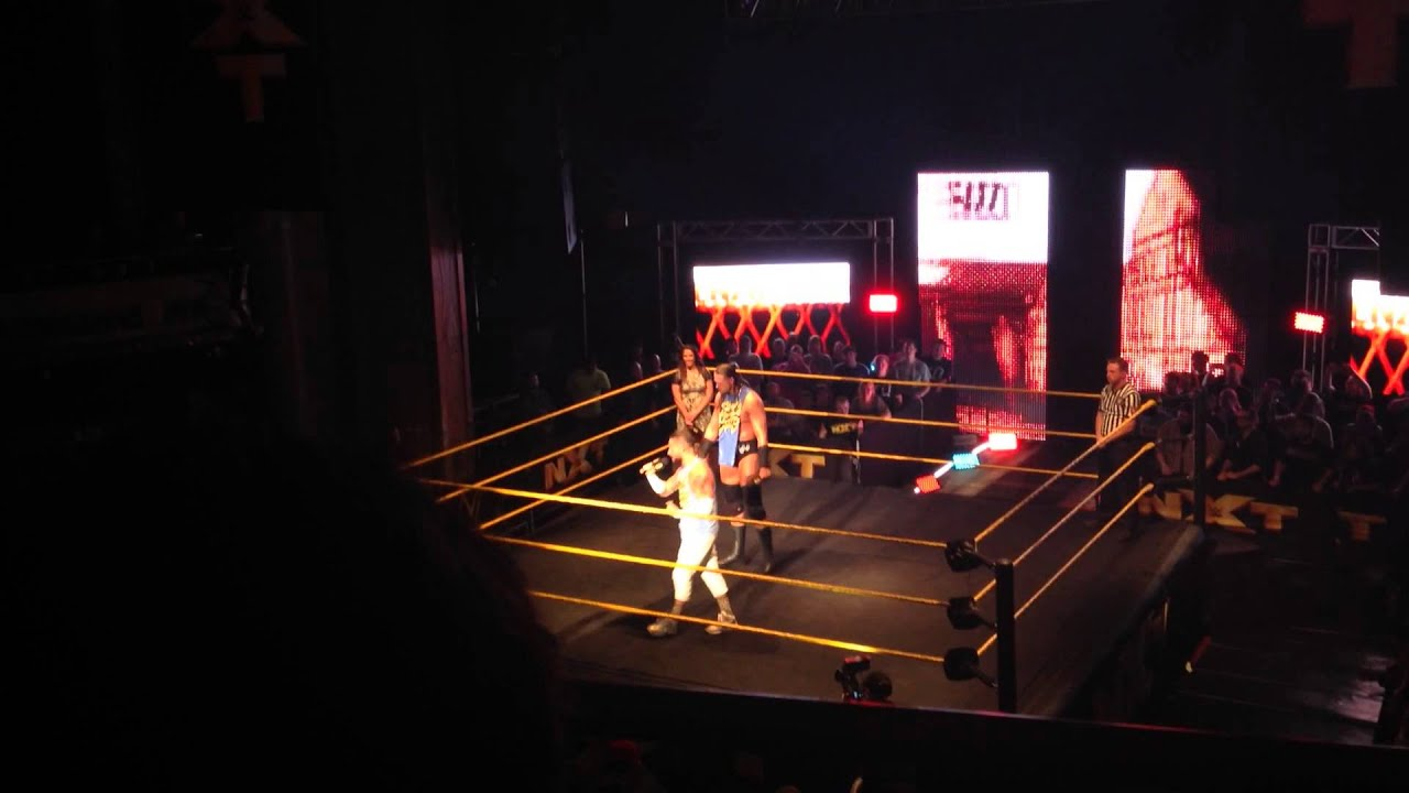 enzo and big cass intro nxt cleveland 6 12 15 youtube