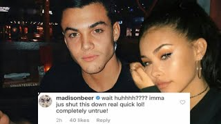MADISON BEER Shutting The Rumors About Dating Grayson Dolan