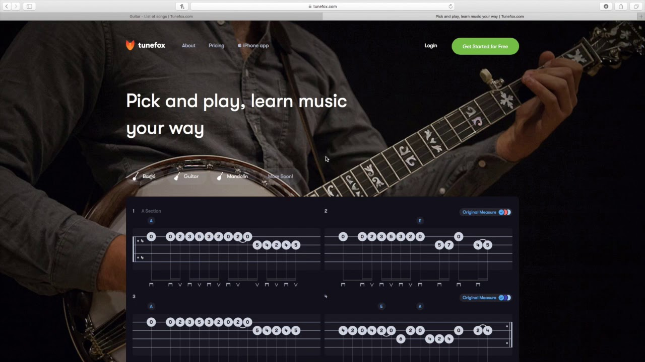 New TuneFox app for banjo, mandolin, and guitar - Bluegrass Today