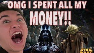 I SPENT ALL MY MONEY!! Skywalker Ranch & LucasFilms