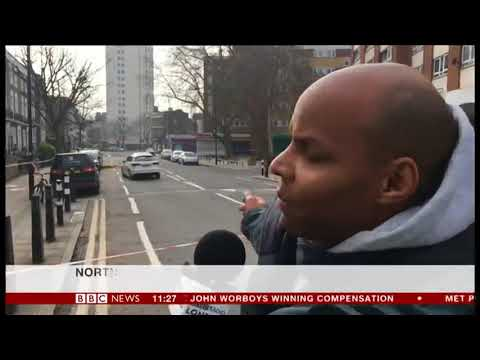 BBC News Channel Camden Stabbing's
