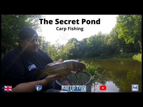 The Secret Pond | Carp Fishing On The Waggler | BagUpTV | Pleasure Fishing 2020
