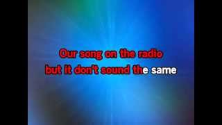 Bruno Mars When I Was Your Man karaoke