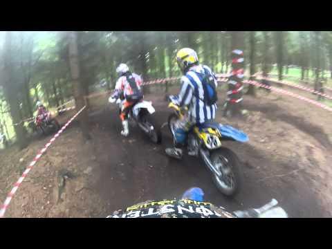 Gopro HD: 2 laps Søgaard enduro race 2013  Yz 125 ||MOTOCROSS||