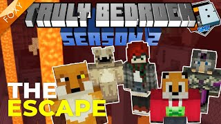 THE ESCAPE | Truly Bedrock Season 2 [0] | Minecraft Bedrock Edition 1.14 SMP