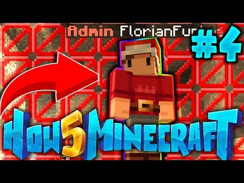 How To Minecraft 5: THE ADMINS TRAPPED ME! #4