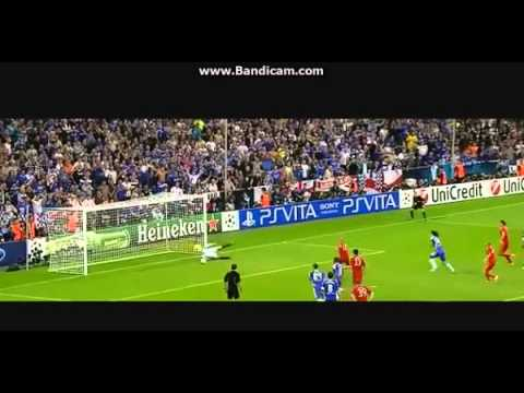 Drogba VS Bayern - UCL 2012 - Goals, Celebration and Interview