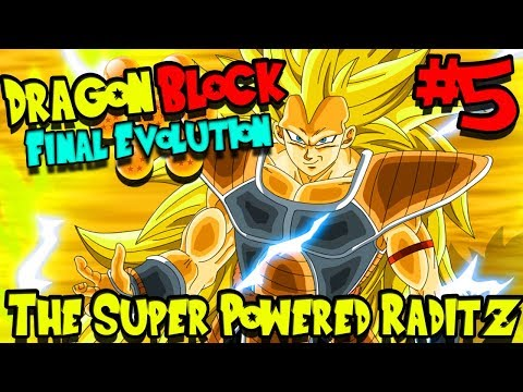 THE SUPER POWERED RADITZ! | Dragon Block Final Evolution (Minecraft Server) - Episode 5