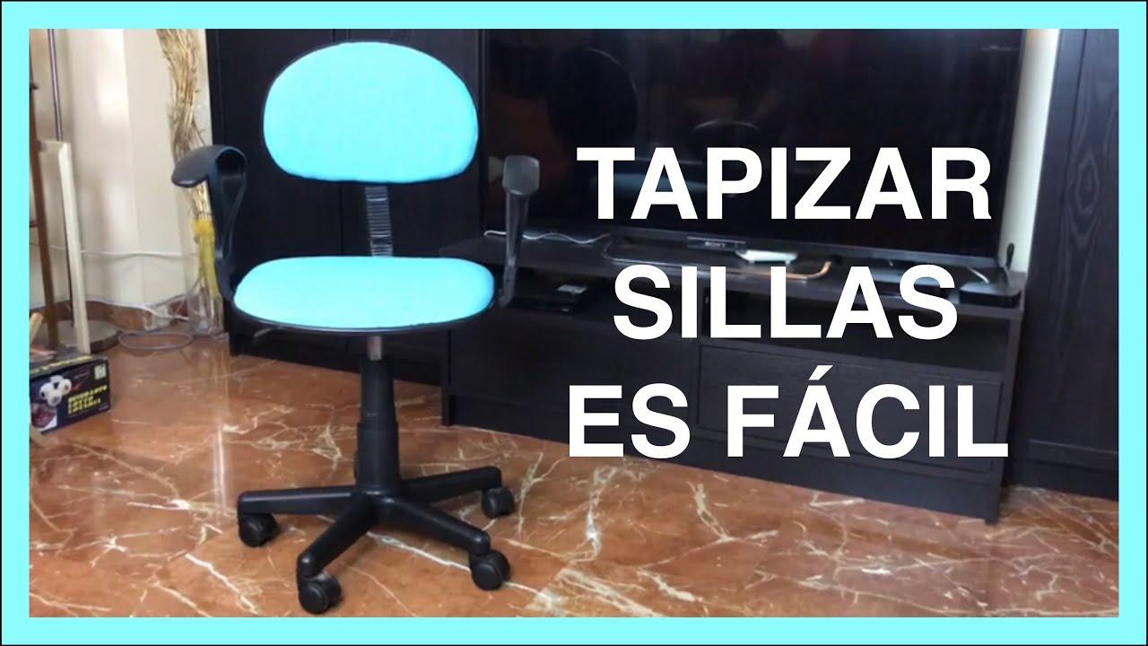 C mo tapizar una silla en 2019 youtube - Tapizar una silla ...