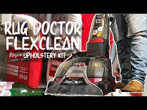 Introducing the Rug Doctor FlexClean