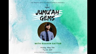 Jumuah Gems With Raahim Sattar