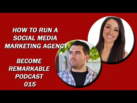 How to run a social media marketing agency with Marley Baird- Remarkable Entrepreneur Podcast 015