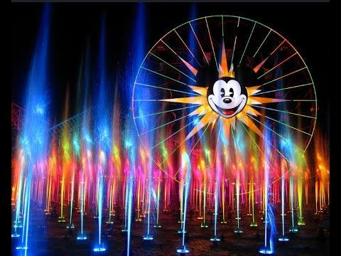 Disneyland World Of Color Full Water Light Show Youtube
