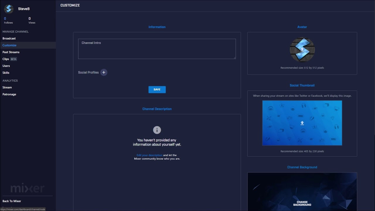 How To Change Your Profile Picture on Mixer (AUGUST 2019